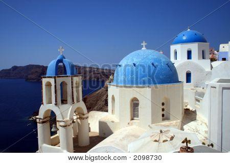 Oia Church - Santorini