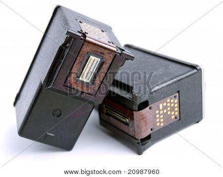 Empty Ink Cartridges