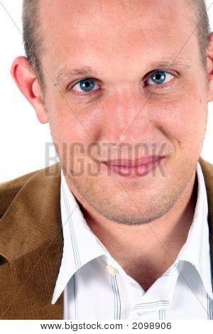 Blue Eyed Businessman