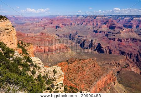 Grand Canyon on a sunny day, Arizona