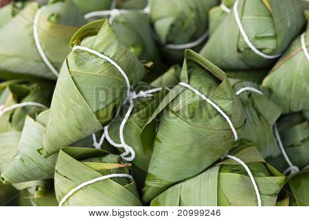 Traditional Chinese Zongzi
