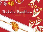 picture of rakshabandhan  - beautiful illustration for rakshabandhan - JPG