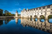Постер, плакат: Chateau De Chenonceau On The Cher River Loire Valley France