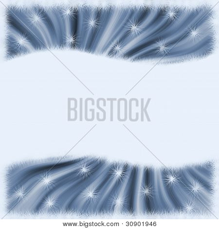 Abstract background in blue shades. Your text