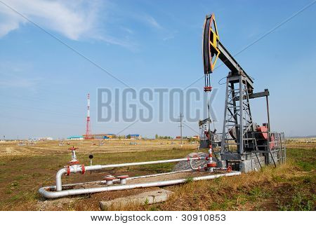 The Oil Derrick