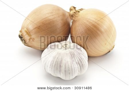 Garlic And Two Onions