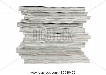 Stack Of Old Magazines Unnecessary