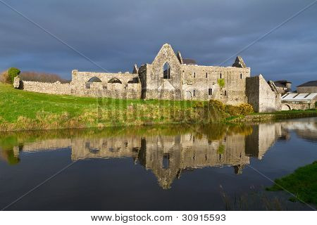14th Century Franciscan Friary in Askeaton, Co. Limerick, Ireland