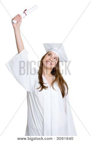 Beautiful Young Graduate