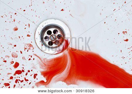 Bloody Sink Background