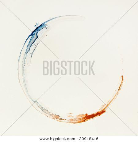 Circle Shape Imprint