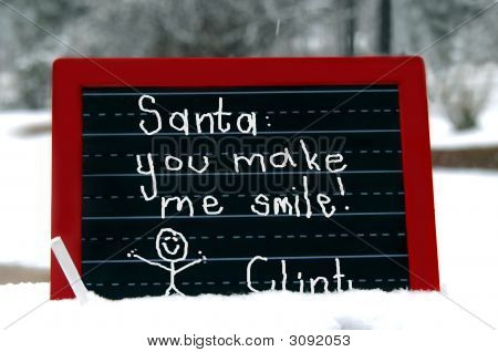 Big Smile For Santa