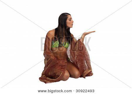 Beautiful Athletic Bikini-clad Hostess (1)