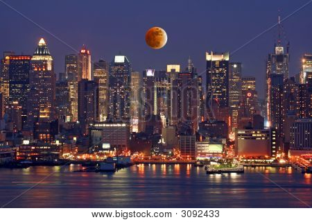 Th New York City Skyline