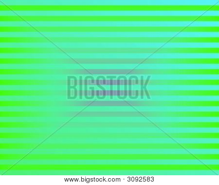 Op Art Neon Bars Green And Blue