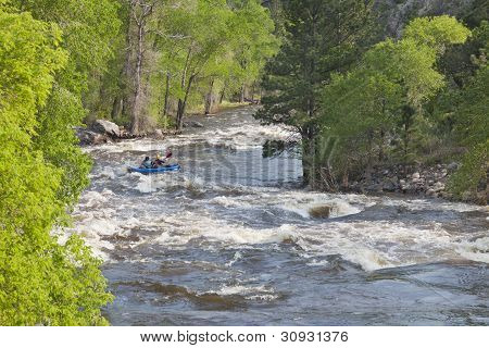 Springtime Whitewater In  Colorado
