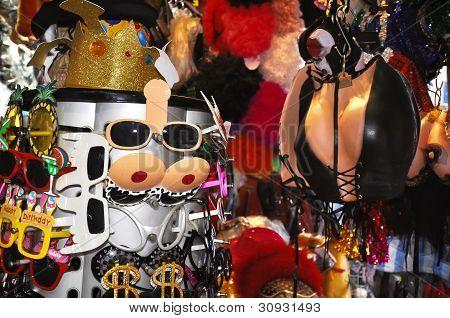 Halloween Costumes, Pottinger Street, Hong Kong