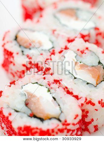 Sushi Rolls California, Macro