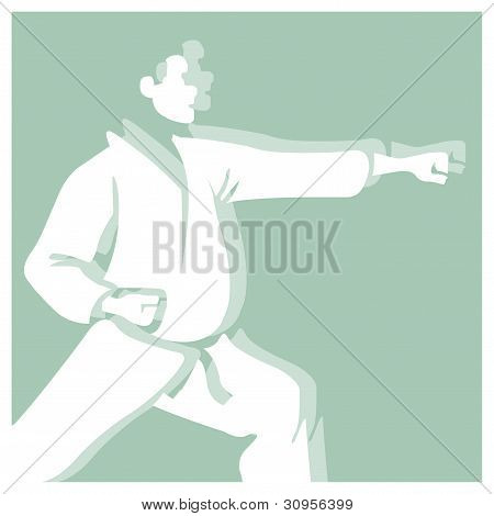 karate pictogram