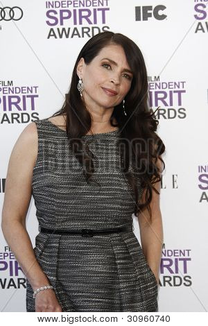 SANTA MONICA, CA - FEB 25: Julia Ormond at the 2012 Film Independent Spirit Awards on February 25, 2012 in Santa Monica, California