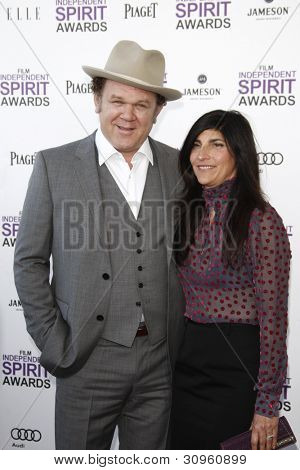SANTA MONICA, CA - FEB 25: John C. Reilly at the 2012 Film Independent Spirit Awards on February 25, 2012 in Santa Monica, California