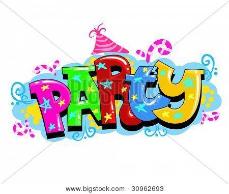 Kid Party Vector Invitation
