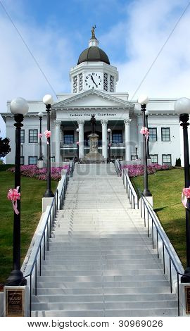 Grand And Elegant Courthouse