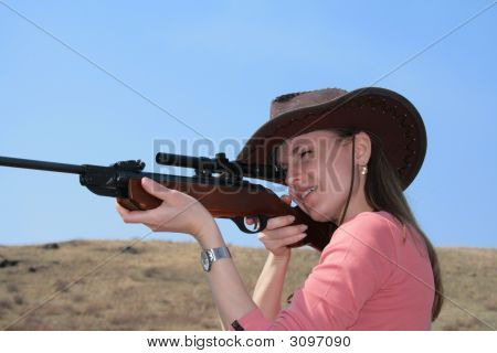 The Woman With Rifle