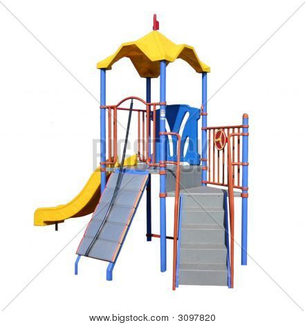 Isolated Play Equipment