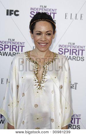 SANTA MONICA, CA - FEB 25: Kaui Hart Hemmings at the 2012 Film Independent Spirit Awards on February 25, 2012 in Santa Monica, California