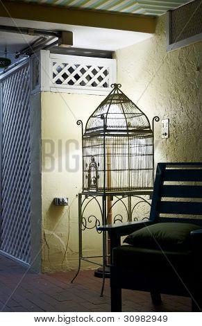 An Empty Bird Cage