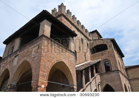 Podestà's Palace. Castell'Arquato. Emilia-Romagna. Italy.