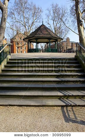The Bandstand In Arnold Circus And The Boundary Estate In London