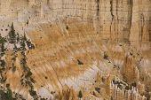 stock photo of fairyland  - hoodoos of Fairyland Point at Bryce National Park Utah USA - JPG