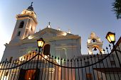 picture of senora  - Recoleta church dedicated to Nuestra Senora del Pilar with a cemetery attached. Buenos Ares, Argentina