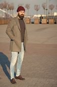 Masculine Casual Outfit. Hipster Outfit. Stylish Casual Outfit For Fall And Winter Season. Menswear  poster