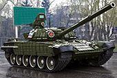 stock photo of ekaterinburg  - Parade of military technics on May 9th in Ekaterinburg - JPG