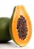 stock photo of excretory  - Fresh  and tasty papaya - JPG