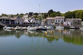 Padstow Is A Town, Civil Parish And Fishing Port On The North Coast Of Cornwall, England, United Kin poster