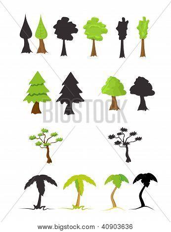 set trees