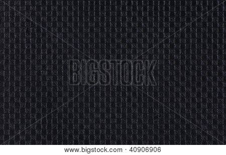 Leather With Imprinted Geometrical Drawing