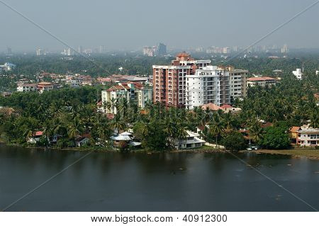 General View Of The City, Cochin (kochi), Kerala, South India