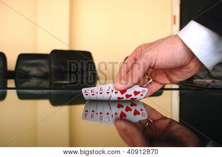 Business gamble