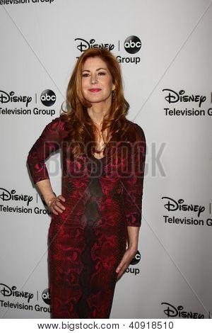 LOS ANGELES - JAN 10:  Dana Delany attends the ABC TCA Winter 2013 Party at Langham Huntington Hotel on January 10, 2013 in Pasadena, CA
