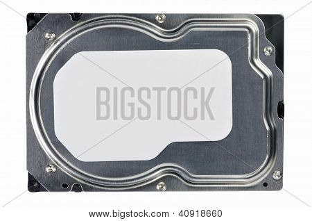 Close-up Of A Hard Disk