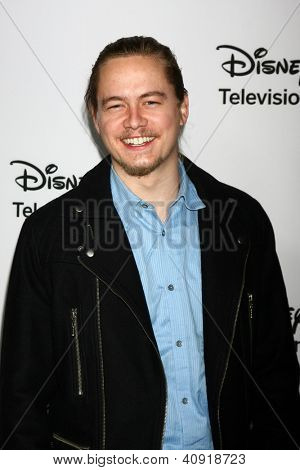 LOS ANGELES - JAN 10:  Christoph Sanders attends the ABC TCA Winter 2013 Party at Langham Huntington Hotel on January 10, 2013 in Pasadena, CA