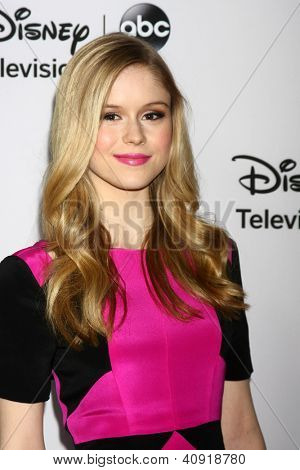 LOS ANGELES - JAN 10:  Erin Moriarty attends the ABC TCA Winter 2013 Party at Langham Huntington Hotel on January 10, 2013 in Pasadena, CA