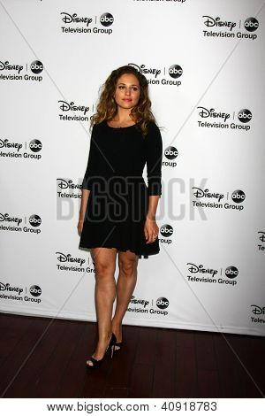LOS ANGELES - JAN 10:  Margarita Levieva attends the ABC TCA Winter 2013 Party at Langham Huntington Hotel on January 10, 2013 in Pasadena, CA