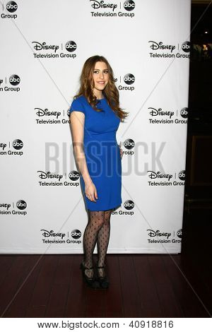 LOS ANGELES - JAN 10:  Eden Sher attends the ABC TCA Winter 2013 Party at Langham Huntington Hotel on January 10, 2013 in Pasadena, CA