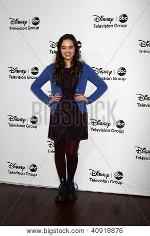 LOS ANGELES - JAN 10:  Mary Mouser attends the ABC TCA Winter 2013 Party at Langham Huntington Hotel on January 10, 2013 in Pasadena, CA